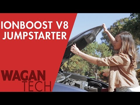 Jump Starting Your Car - iOnBoost V8+ (7503) - Battery Booster, and Power Bank in one!