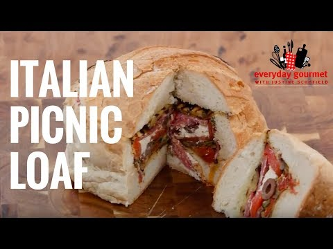 Primo – Fast Fact – Italian Picnic Loaf | Everyday Gourmet S6 E62