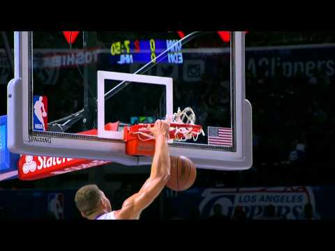 Way - Check out this video of Blake Griffin throwing down a huge one-hand slam. About the NBA: The NBA is the premier professional basketball league in the United States and Canada. The league...