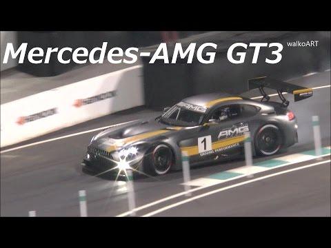 Mercedes Stars & Cars 2015 - Mercedes-AMG GT3 (2016)  Mercedes-Benz Arena Stuttgart