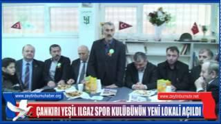 Çankırı Yeşil Ilgaz Spor Kulübünün Yeni Lokali açıldı