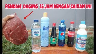 Download Video NGERI!.. 15 JAM DIRENDAM, Ternyata Daging Jadi Seperti ini #experiment MP3 3GP MP4