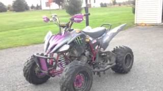 10. Custom Yamaha Raptor 250