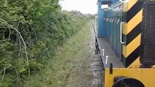 Helston United Kingdom  City new picture : Helston Railway - train goes through Trevarno station Cornwall England UK