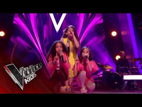 Video Mandy, Astrid and Savannah perform 'It's Oh So Quiet': Battles 1 | The Voice Kids UK 2018 download in MP3, 3GP, MP4, WEBM, AVI, FLV January 2017