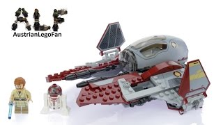 Lego Star Wars 75135 Obi Wan's Jedi Interceptor™ - Lego Speed Build Review