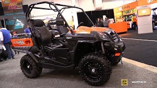 3. 2019 CfMoto U-Force 800 Utility ATV - Walkaround - 2018 Toronto ATV Show