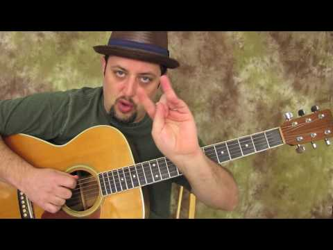 Blues Guitar Scales – Acoustic – Ultimate E Blues Run