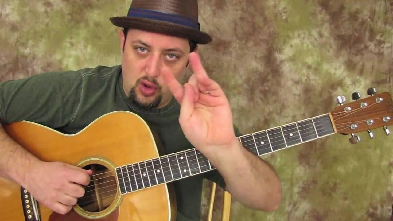 Blues Guitar Scales – Acoustic – Ultimate E Blues Run