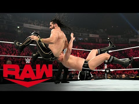 Seth Rollins vs. WALTER: Raw, Nov. 11, 2019