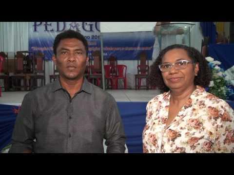 Jornada pedagógica 2008 em Pedro do Rosario MÁ.