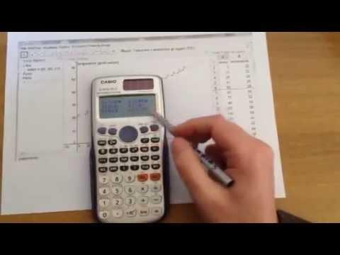 Media e deviazione standard con calcolatrice scientifica