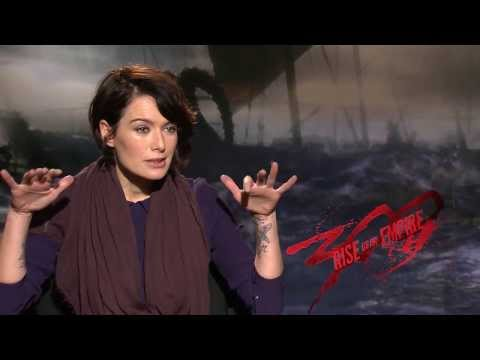 Lena Headey interview for 300 Rise of an Empire interview