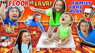 Video FLOOR IS ACTUALLY LAVA CUZ WE AIN'T LAZY YOUTUBERS! Oh, BURN! FGTEEV Family Game Challenge Pool Day MP3, 3GP, MP4, WEBM, AVI, FLV September 2019