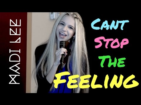 "Justin Timberlake  ""Can't Stop The Feeling"" Cover by Madi Lee"