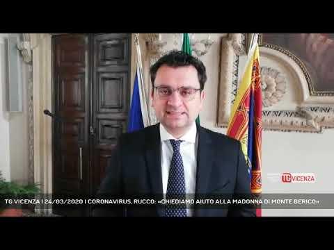 TG VICENZA | 24/03/2020 | CORONAVIRUS, RUCCO: «CHIEDIAMO AIUTO ALLA MADONNA DI MONTE BERICO»