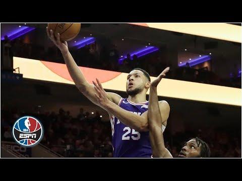 Video: Ben Simmons, Tobias Harris, Boban Marjanovic lead 76ers vs. Heat | NBA Highlights