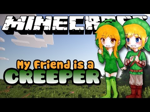 MY FRIEND IS A CREEPER! Part 10