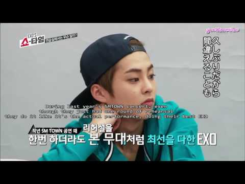 ENG SUB 160123EXO's Showtime Special Edition EP9 Unseen Cut