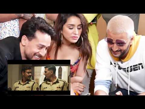 Sooryavanshi Official Trailer Reaction | Tiger Shroff |Shraddha|Riteish
