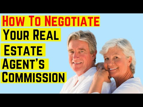 How To Negotiate Your Real Estate Agent's Commission 🌺 🌺
