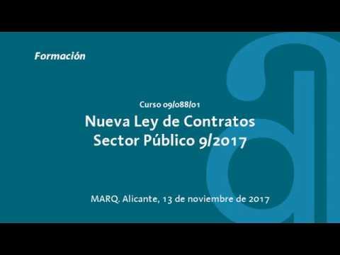 Video Sesión 1. Nueva Ley de Contratos del Sector Público 9/2017. 13 noviembre 2017 download in MP3, 3GP, MP4, WEBM, AVI, FLV January 2017
