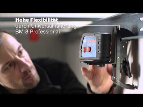 Bosch GLL 2-15 Linienlaser plus BM 3