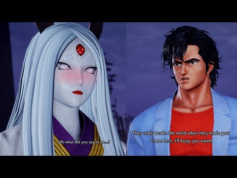Funny quotes - Ryo Saeba Flirts with Kaguya!JUMP FORCE: Easter Eggs KAGUYA All Special Funny Interactions & Quotes