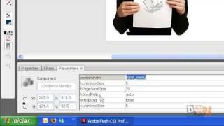 Scroll Bar com imagens e botões, prático mas com poucas opções de personalização. Aula 02