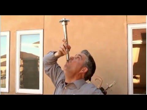 Sword Swallower Brad Byers Swallows a Car Axle! KLEW News -WORLD RECORD