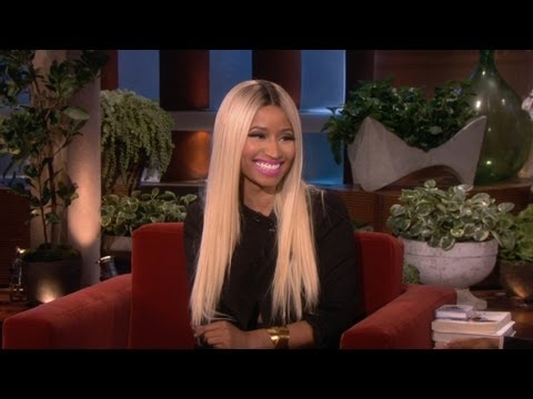 Nicki Minaj Calls Bras 'The Devil!' [VIDEO]