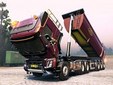 Volvo FMX для спинтайрес