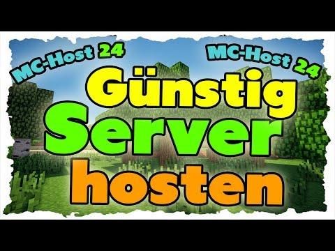 Günstige Minecraft Server hosten – Tutorial (MC-Host24) (Einfach|Schnell|Günstig)
