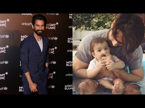 Shahid Kapoor Shares Sweet Moments With Daughter Misha Kapoor