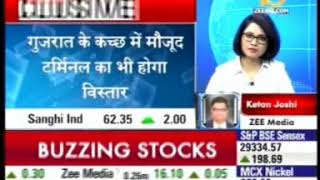 03 Zee Business Buzzing News 18 Feb 2015 Sanghi Ind Expansion Plan