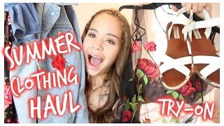 Huge Try on summer clothing haul 2017! A lot of these clothes are super trendy and perfect for summer break! There are also some sandals and baiting suits included!  links to all clothing items will be below! I hope you guys all enjoyed the video! Subscribe!Romwe website: https://goo.gl/WEhsAE Black mesh roses shirt: https://goo.gl/A1cK5ZEyelash T-shirt: https://goo.gl/dQaRvIWhite Floral 2-piece: https://goo.gl/Y0wVMnMulti-colored off shoulder 2-piece: https://goo.gl/qmrh9XBlack with roses 2-piece: https://goo.gl/czMttMShein website: http://bit.ly/2pyK3pp Blue & white stripped off-shoulder shirt: http://bit.ly/2pyramE Roses Jean Jacket: http://bit.ly/2oqPJ01 Cupshe website: https://goo.gl/jECfOS  Black one-piece baiting suit: https://goo.gl/4dg5Ud Pink floral cross suit: https://goo.gl/1k0vut Blue halter tie suit: https://goo.gl/c1MLaO Blue dress with embroidered floral: https://goo.gl/s5NUM3 Nordstrom BP Black Tie up sandals: http://shop.nordstrom.com/s/bp-decker-lace-up-sandal-women/4442062?cm_mmc=email_tran-_-050217-_-dtc_ship_confirm-_-proddescr1if ur a company, wanting to reach me:claudiacasey972@gmail.com octoly sign up link & get 5 points: https://www.octoly.com/youtubers?yt_ref=hat0mif vlog channel: https://www.youtube.com/channel/UC5U8HKZOmaaAHJTLUGOrc_gInstagram:https://www.instagram.com/claudiacasey972/Twitter: https://mobile.twitter.com/account