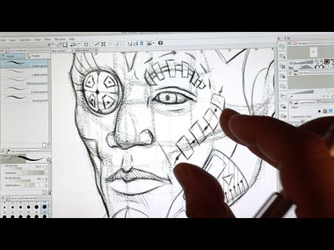 Review Surface Pro 3 for the Artist using Manga Studio 5
