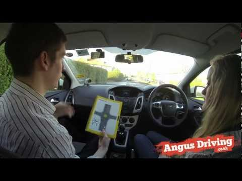 roundabout - http://www.AngusDriving.co.uk This video was filmed to give a basic guide to roundabouts, it covers turning left at a roundabout, following the road ahead at...