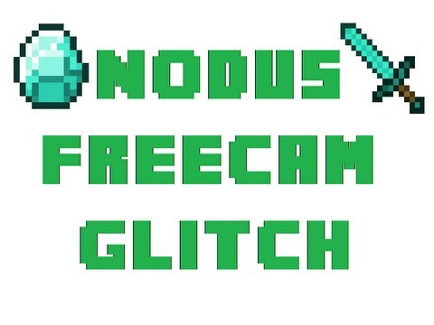 Nodus Freecam Glitch (Go Through Walls) Minecraft *Hacked Client*