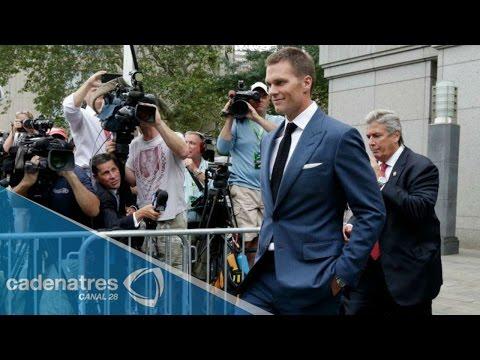 Juez anula sanción de la NFL contra el quarterback Tom Brady