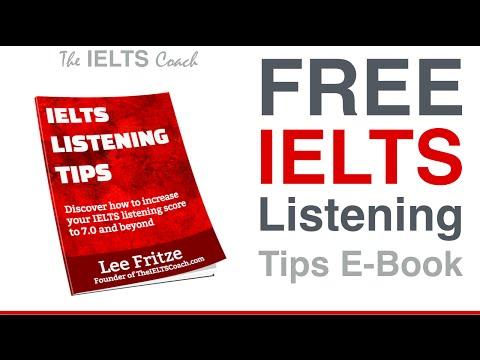 Free IELTS Listening Tips E Book