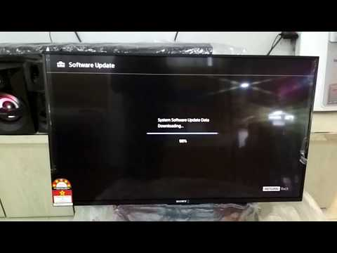 How To New Software Update Sony Bravia TV W750E 43inch 2018 [Bengali] HD