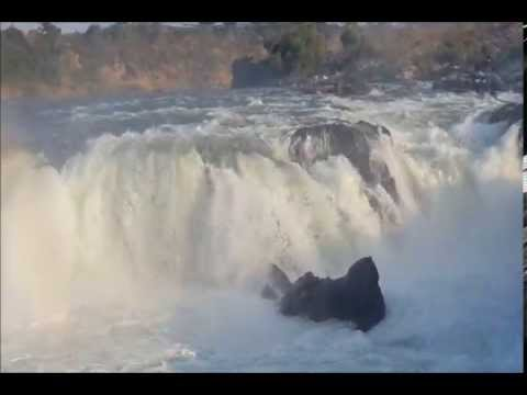 Video Dhuandhar Waterfall of Narmada River at Bhedaghat Jabalpur Madhya Pradesh India download in MP3, 3GP, MP4, WEBM, AVI, FLV January 2017