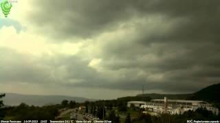 Roč, Pogled prema zapadu 14-09-2015 Day HD TimeLapse