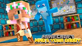 Minecraft  - WHO'S YOUR DADDY? KILLING THE BABIES!! w/Little Lizard & Tiny Turtle
