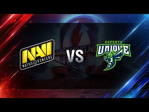 World of Tanks - Natus Vincere G2A vs UNIQUE  - WGLRU S2 2016-2017 - Semi Final #1