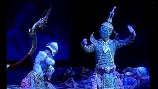 Khon - Classical Thai Dance Drama Part 10 Of 11 โขน พรหมาศ