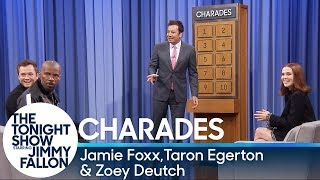 Video Charades with Jamie Foxx, Taron Egerton and Zoey Deutch MP3, 3GP, MP4, WEBM, AVI, FLV Juli 2018