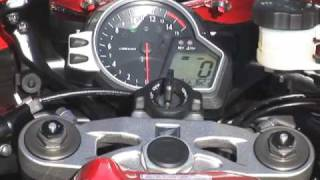 1. First Look: 2008 Honda CBR1000RR Motorcycle Review