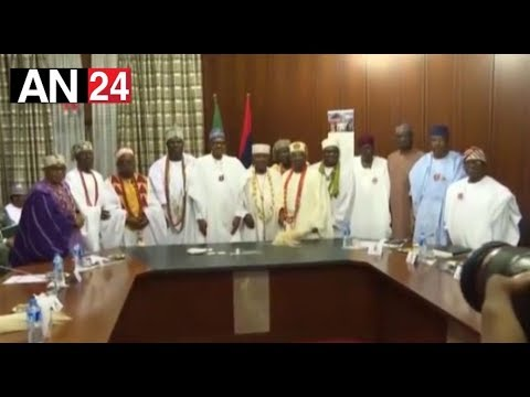 OONI OF IFE MEET BUHARI IN ASO ROCK HEAR WHAT THEY PLAN COME 2019 ELECTION